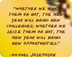 New Year New Opportunities and Resolutions