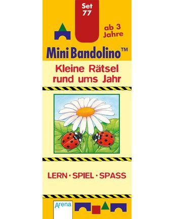 Mini Bandolino – Set 77 – Kleine Rätsel rund ums Jahr von Arena ✔ Kurze…
