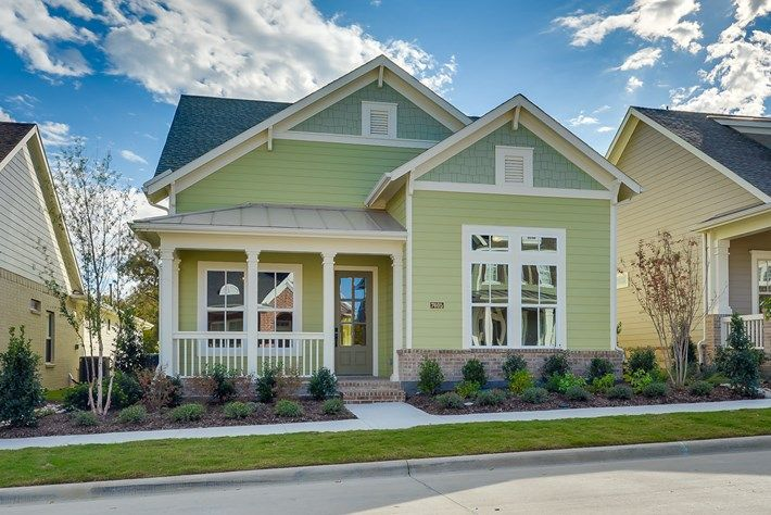 Another david weekley one story at mckinney 39 s tucker hill for Craftsman homes for sale in texas