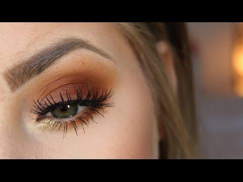 Burnt Orange Eyes | MAKEUP TUTORIAL - YouTube