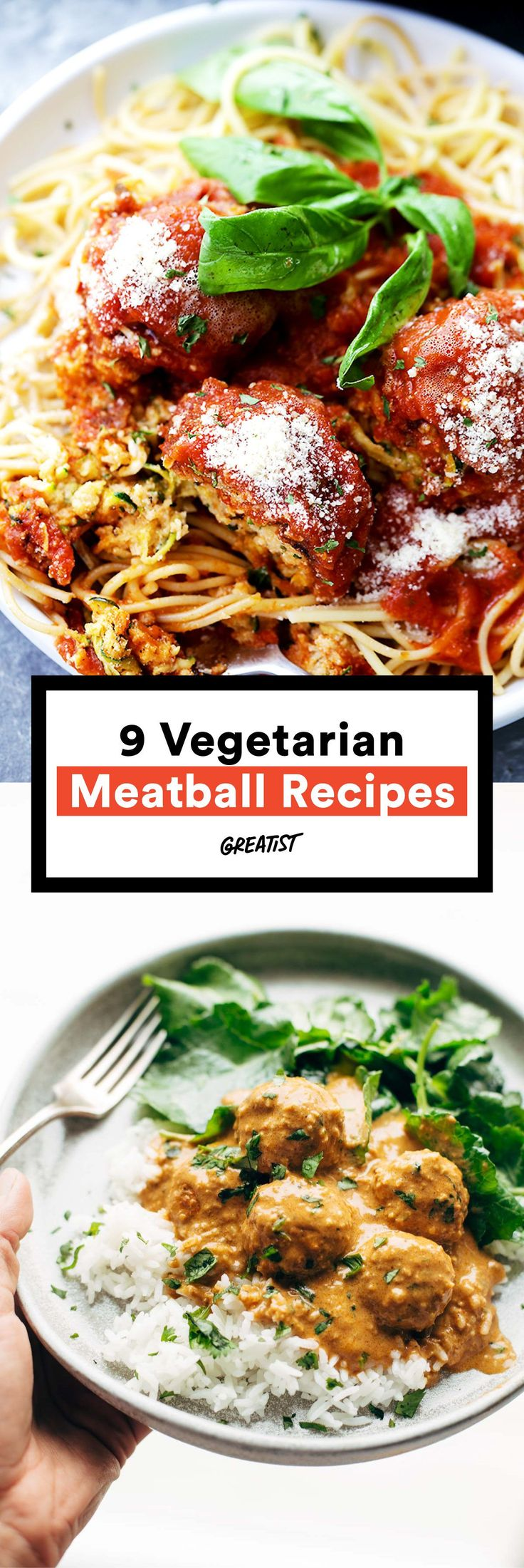 Say hello to your new fave Meatless Monday meal. #greatist http://greatist.com/eat/vegetarian-meatball-recipes