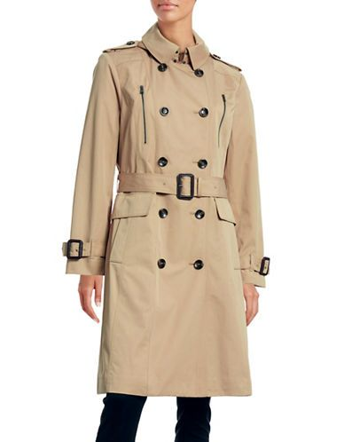 Women | New Arrivals  | Midi Trench Coat | Hudson's Bay