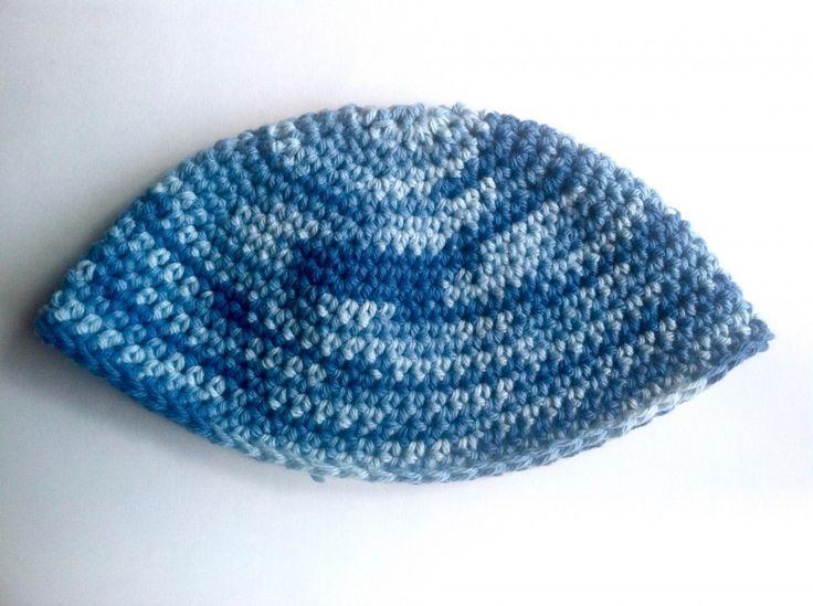 Free Israeli Style Quot Frik Quot Kippah Pattern Single Crochet
