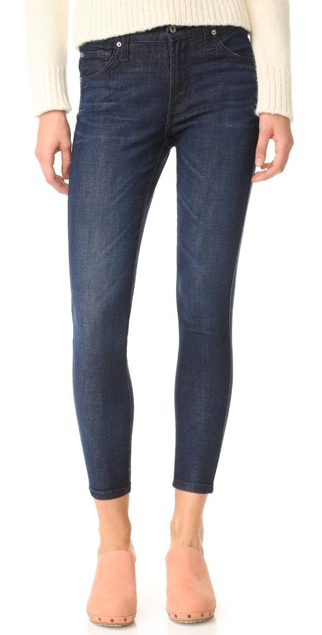 James Jeans Mid Rise James Twiggy Ankle Jeans | SHOPBOP
