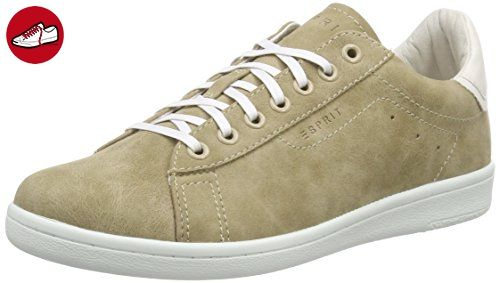 ESPRIT Mary Lace Up, Damen Sneakers, Beige (240 taupe), 38 EU - Esprit schuhe (*Partner-Link)