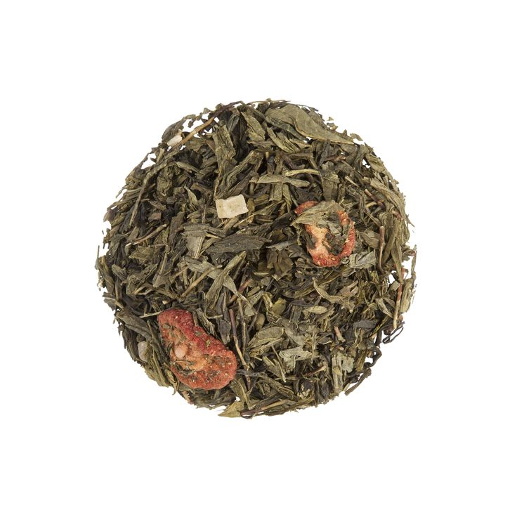 Strawberry Shortcake Green Tea - Dollar Tea Club