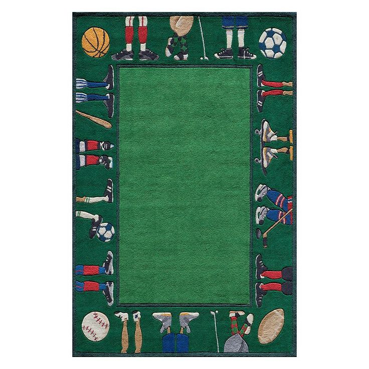 Momeni Lil Mo Whimsy Sports Rug