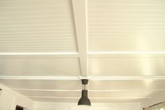 beadboard ceiling how to - used to cover popcorn ceilings