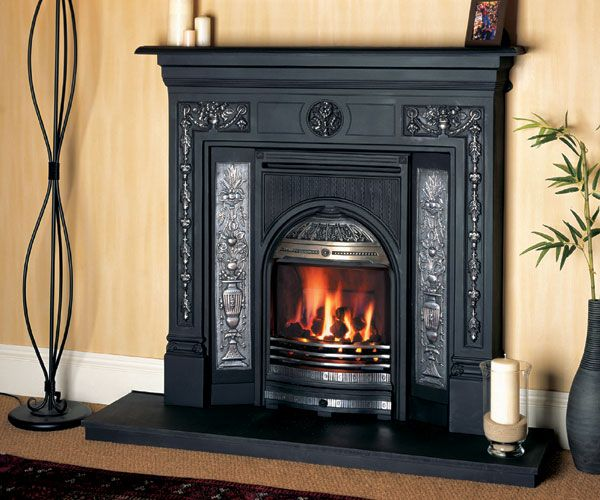 Image result for retrofit coal fireplace