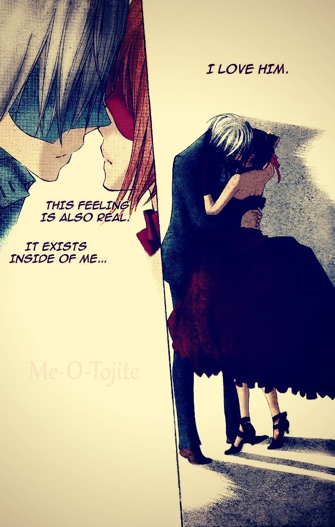 Vampire Knight - Yuuki and Zero. Second kiss