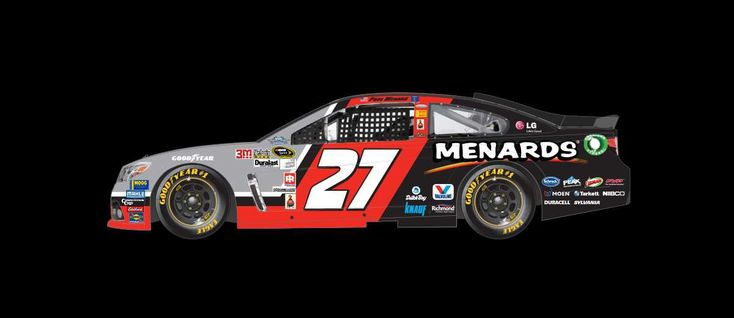 2016 Darlington throwback paint schemes | Paul Menard No. 27 Richard Childress Racing Chevrolet
