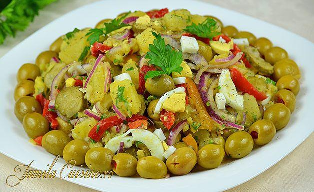 Salata orientala - retata video