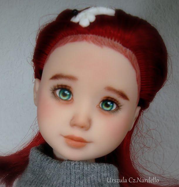 OOAK -Moja pasja: Ana...repainted ooak doll.. :)