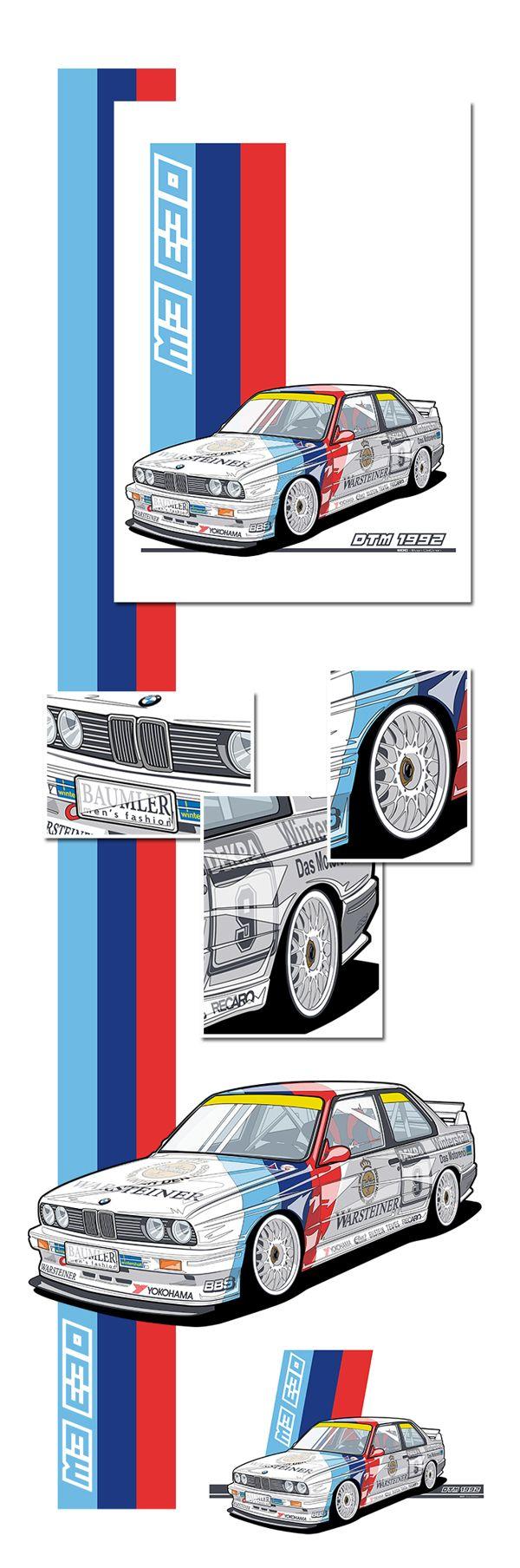BMW - M3 E30 Dtm on Behance