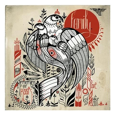 remember your roots.: Tattoo Ideas, Inspiration, David Hale, Families Tattoo, Tattoo Artists, Illustration, Graphics Design, Tattoo Design, Native American