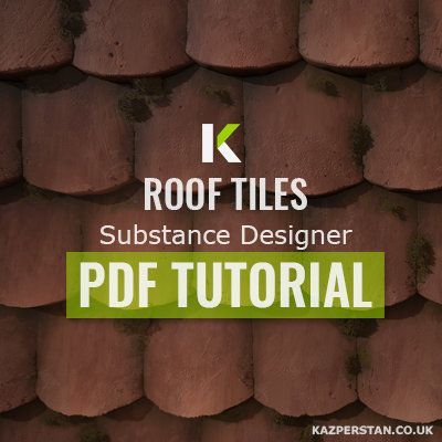 Tutorial - Roof Tiles - Substance Designer, Karen Stanley on ArtStation at https://www.artstation.com/artwork/tutorial-roof-tiles-substance-designer