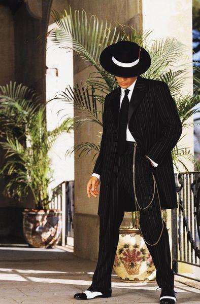 Zoot suit tuxedo for wedding