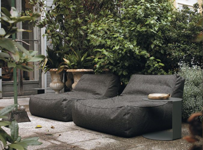 Contemporary fireside chair - ZOE by Lievore Altherr Molina - Verzelloni