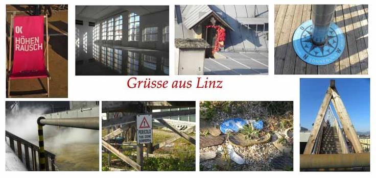 Linz, over de daken van de Stad. Zeer de moeite waard.