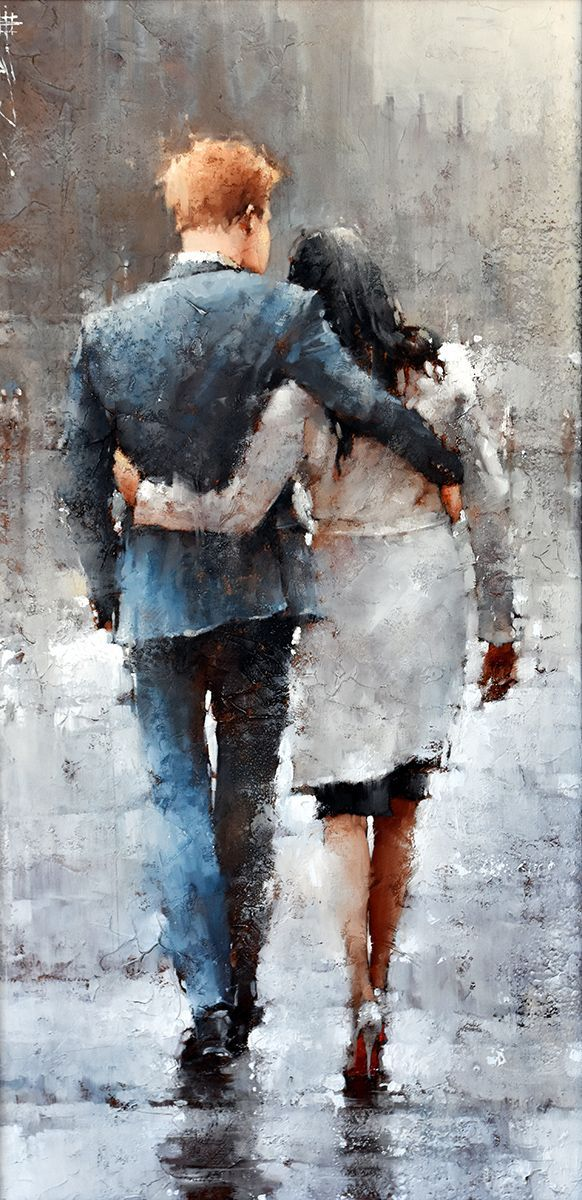 Legs Couple Figure Canvas Picture Acrylic Oil DIY Paint Set by Numbers Kits Gift
