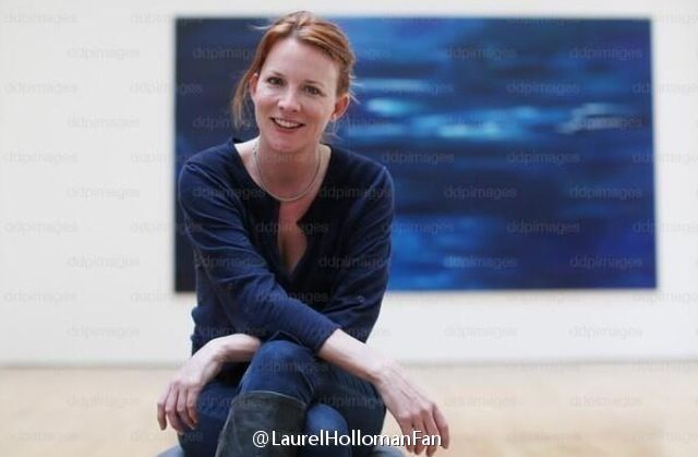 The artist!!!Laurel Holloman...