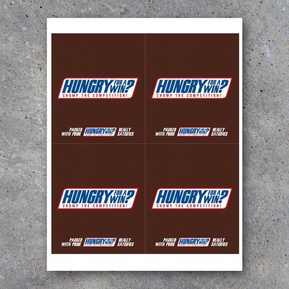 Snickers Sports Locker Treat Candy Bar Wrapper Printable Etsy Sports Locker Football Treats Team Snacks
