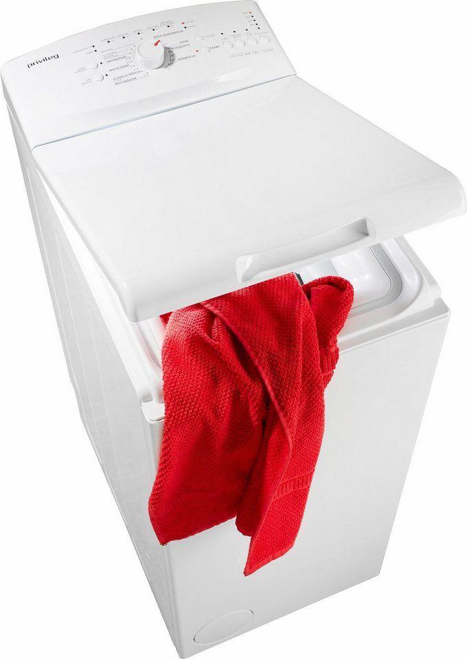 Privileg Waschmaschine Toplader PWT 3505, A+, 5,5 kg, 1000 U/Min