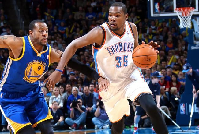 Durant was on fire tonight! Career high 54 pts. OKC 127 - GSW 121