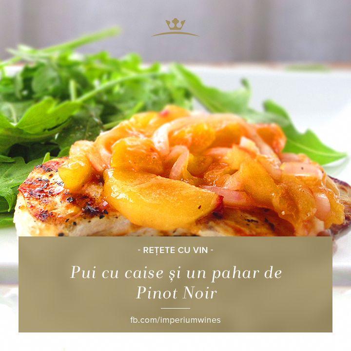 Din când în când, merită să faci un experiment culinar delicios! O friptură de pui cu caise ar merge de minune cu noblețea gustului și aromei unui Pinot Noir: http://rios.ro/imperium-pinot-noir.html