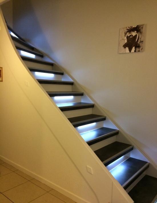 Top Les 25 meilleures idées de la catégorie Habillage escalier béton  NX31