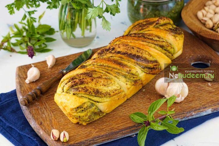 Итальянский хлеб с песто — Пошаговые рецепты с фото