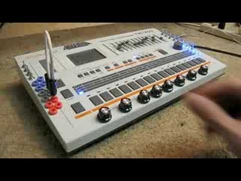 Diabolical Devices: modified Roland tr-707