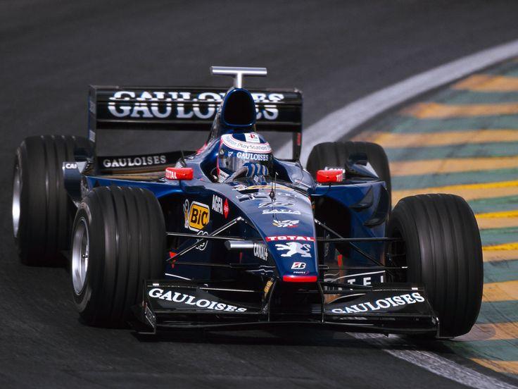 Jarno Trulli (ITA) (Gauloises Prost Peugeot), Prost AP02 - Peugeot A18 3.0 V10, 1999