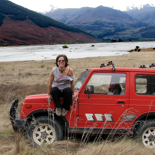 A girl needs a car to get around (or a 4WD to get around in the mud!) This is Suzie, the Suzuki, my faithful jeep. #greatwalker