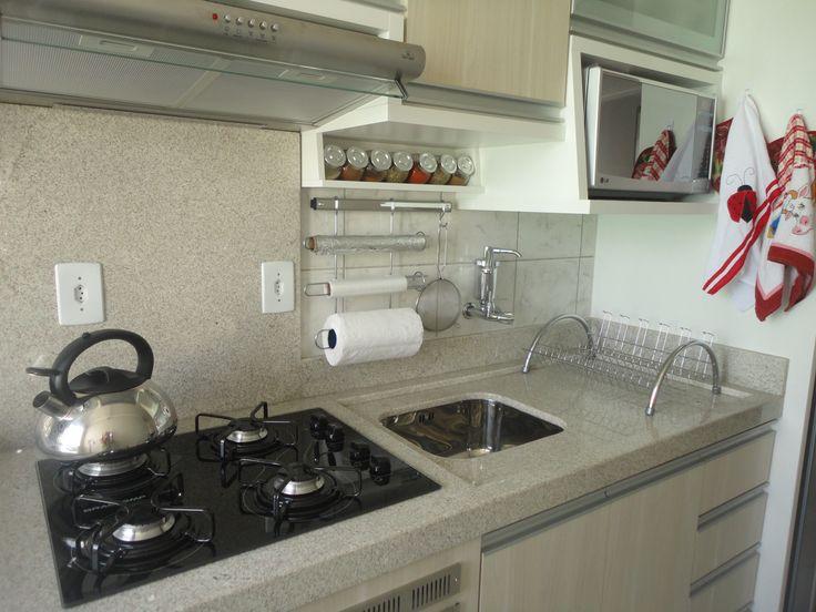 cozinha pequena com pia de 1,10m - Pesquisa Google