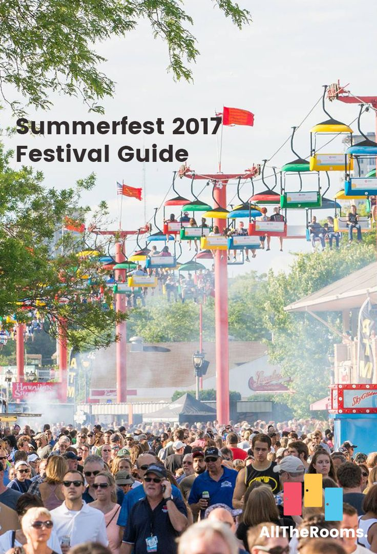 Summerfest 2017 is celebrating 50 years of bringing its fun to Milwaukee. Fans come from all over the country for the full Summerfest experience, from a star-studded musical lineup to professional sports team appearances to a carnival-like atmosphere.