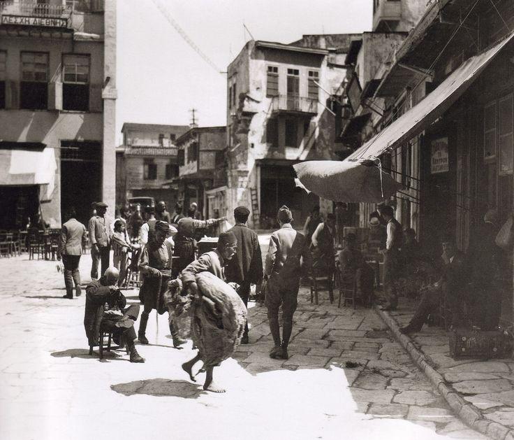 Χανιά, Πλατεία Μαυροβουνίου,  1920