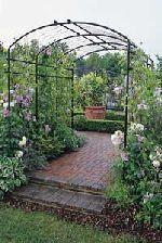 Garden Arbors And Trellises Steel Arches Metal Arbor Gazebo