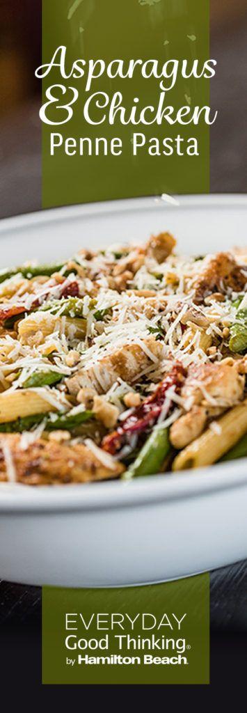 Asparagus & Chicken Penne Pasta