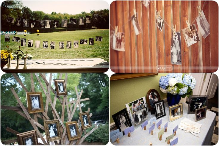 Family photos display: Display Photos, Wedding Ideas, Wedding Photo Displays, Families Photo Display, Wedding Photos, Display Family Photos, Cool Ideas, Display Families Photo, Diy Wedding