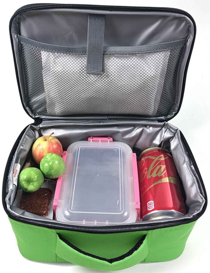 Lunch Box Insulated Bag Tote Kids Adult Travel Work School Picnic Food Drink #MIER #LunchBag