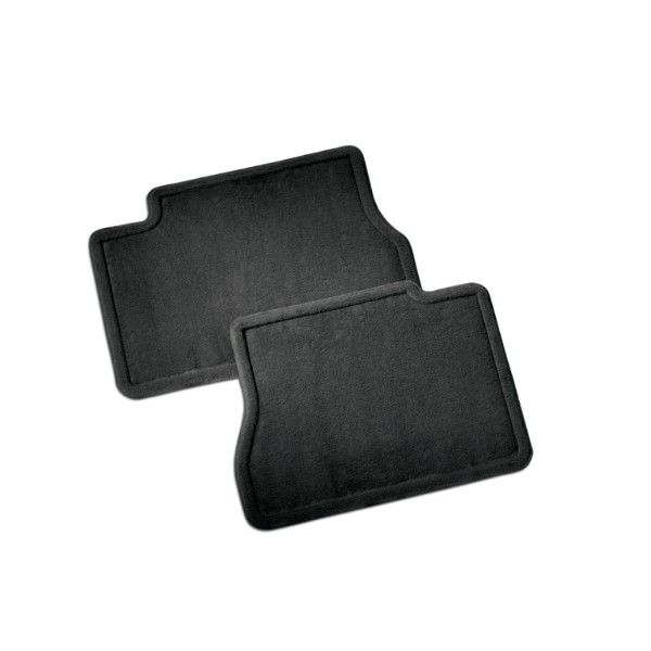 2016 #Silverado 1500 Floor Mats, Rear Carpet Replacements, #DoubleCab: These replacements for the rear seat of Silverado duplicate the original production floor mats exactly.