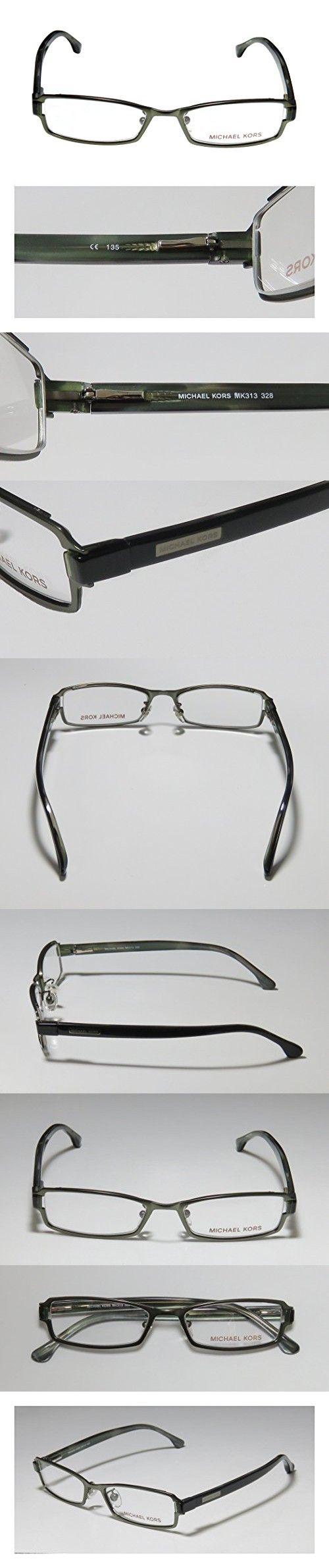 Michael Kors 313 Womens/Ladies Designer Full-rim Flexible Hinges Eyeglasses/Eyeglass Frame (50-17-135, Fern / Dark Green)