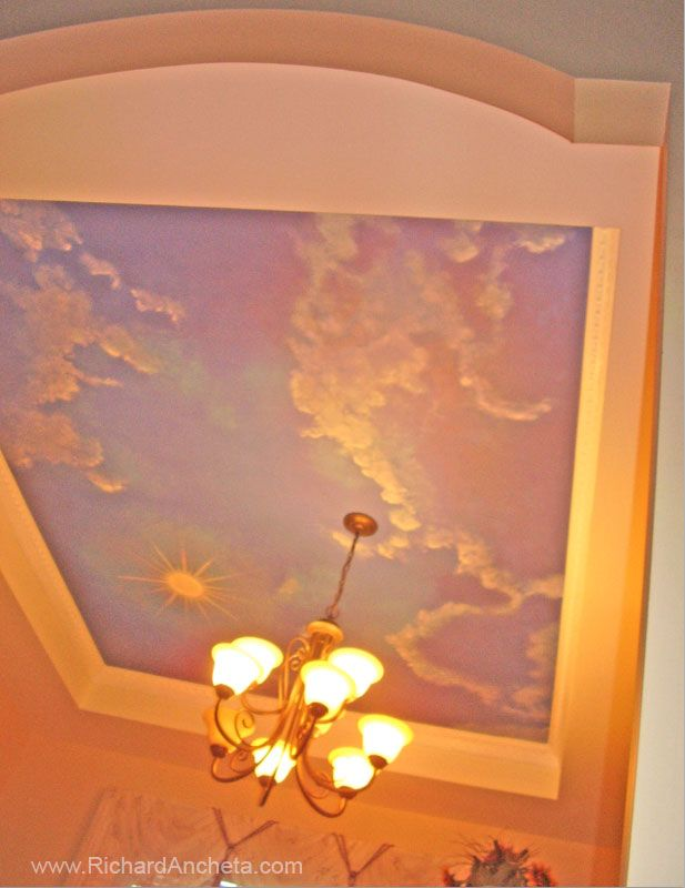 The 25+ best Cloud ceiling ideas on Pinterest | Cloud lights, Ceiling art  and Child room