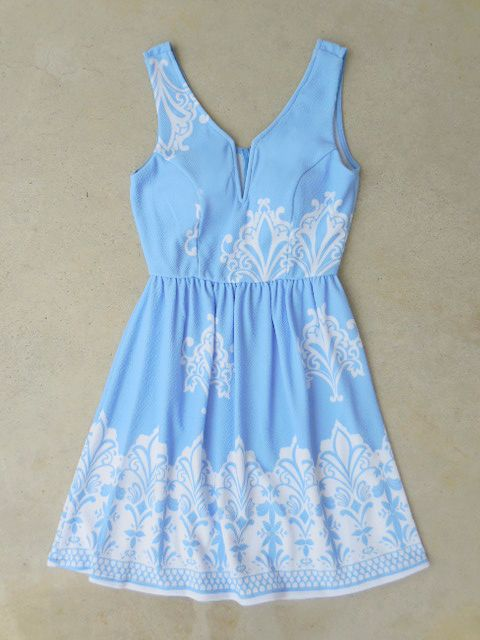 Periwinkle in July Dress // Sorority Recruitment Dress