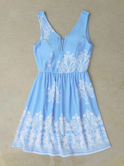 Periwinkle in July Dress // Sorority Recruitment Dress