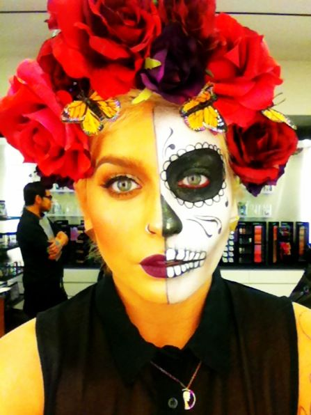 25 best Calavera Face Painting Inspiration images on Pinterest ...