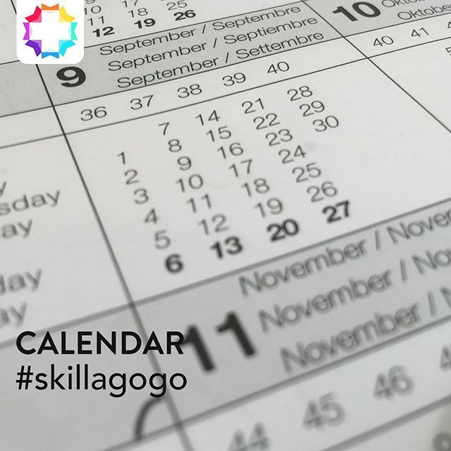 We should add a day between Sunday and Monday. . #skillagogo #skill #neverstoplearning #neverstopexploring #knowledge #education #calendar #fun #sunday #monday #weekend #week #weekday #singapore