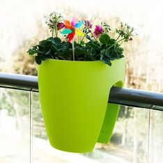 Unique Balcony Railing Planter Pots