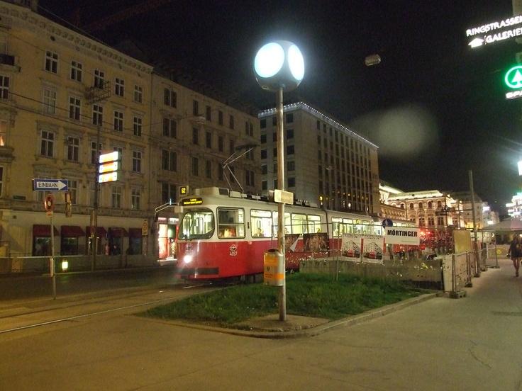 Picturesque trams
